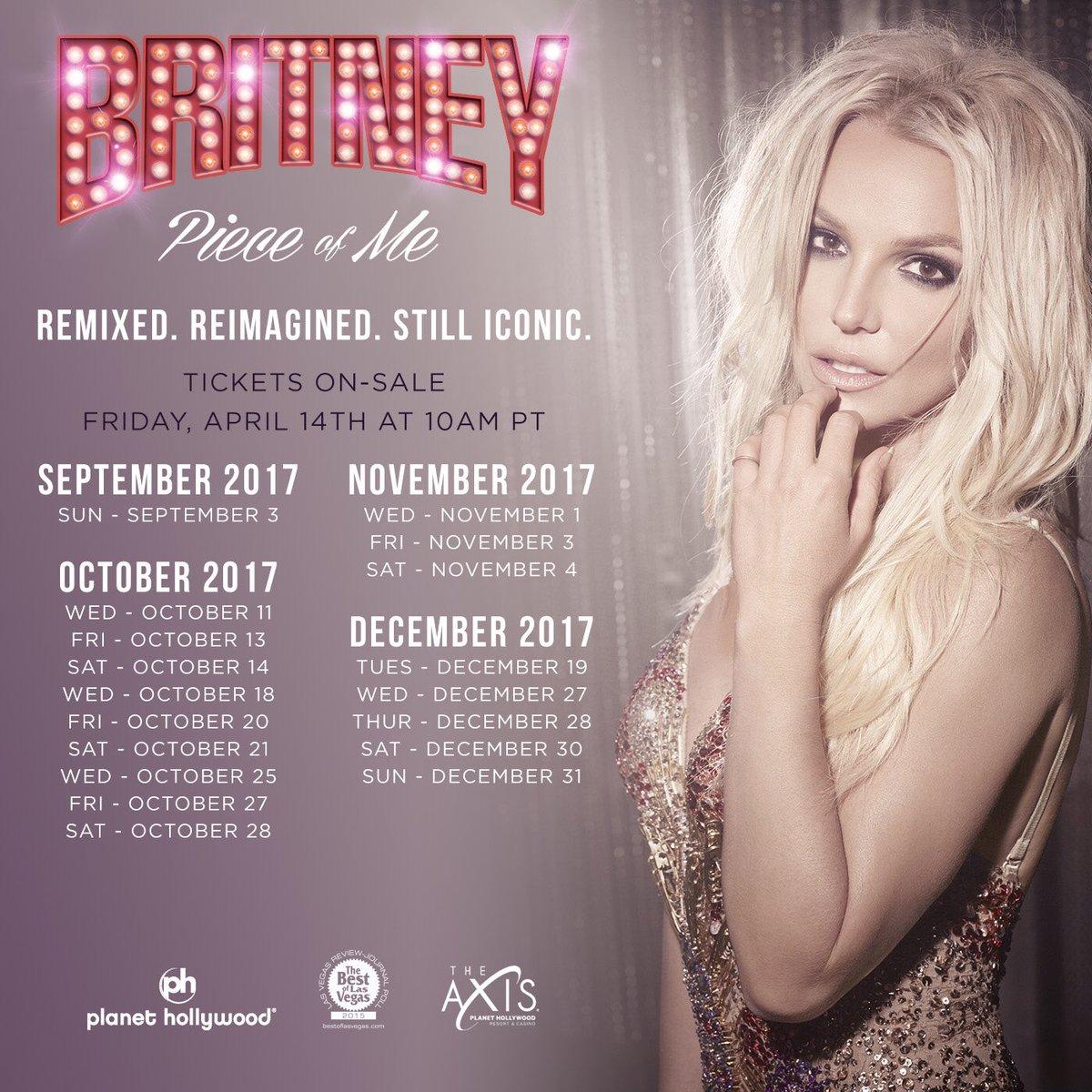 "Britney Spears - Final Vegas ""Piece of Me"""