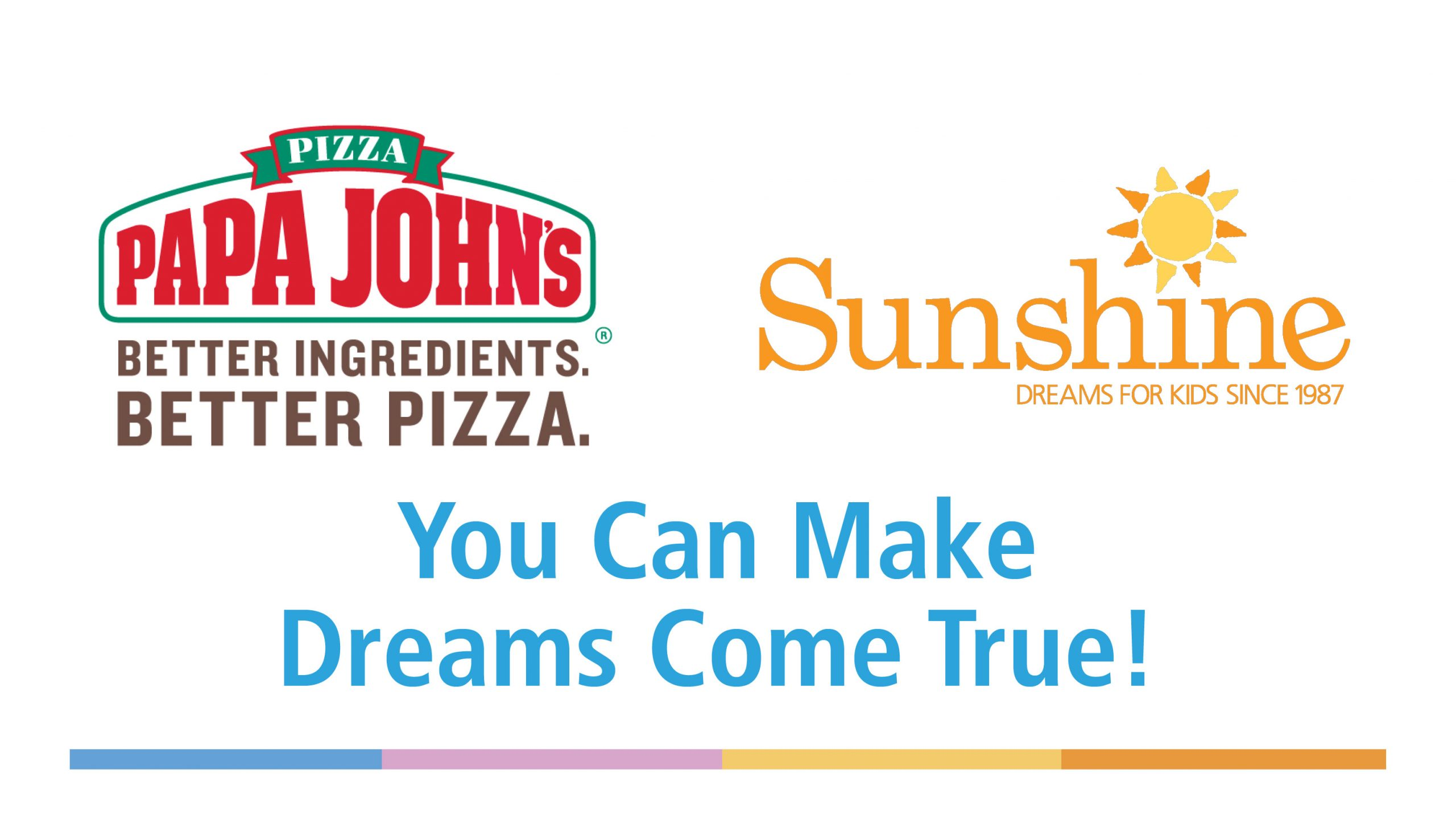 Papa Johns Dreams for Kids Day | 101.3 The River