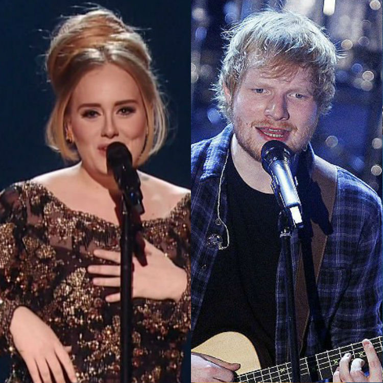 Ed vs. Adele #ShortBuzzz