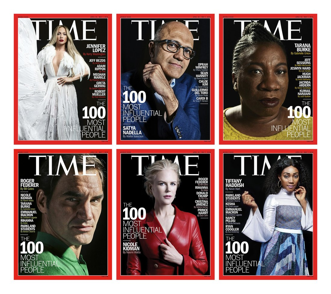 Time's 100 Most Influential People - 2018