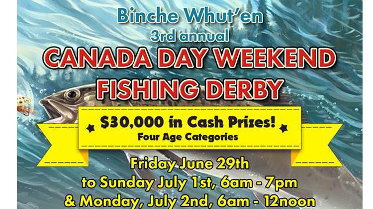 Canada Day Long Weekend Fishing Derby
