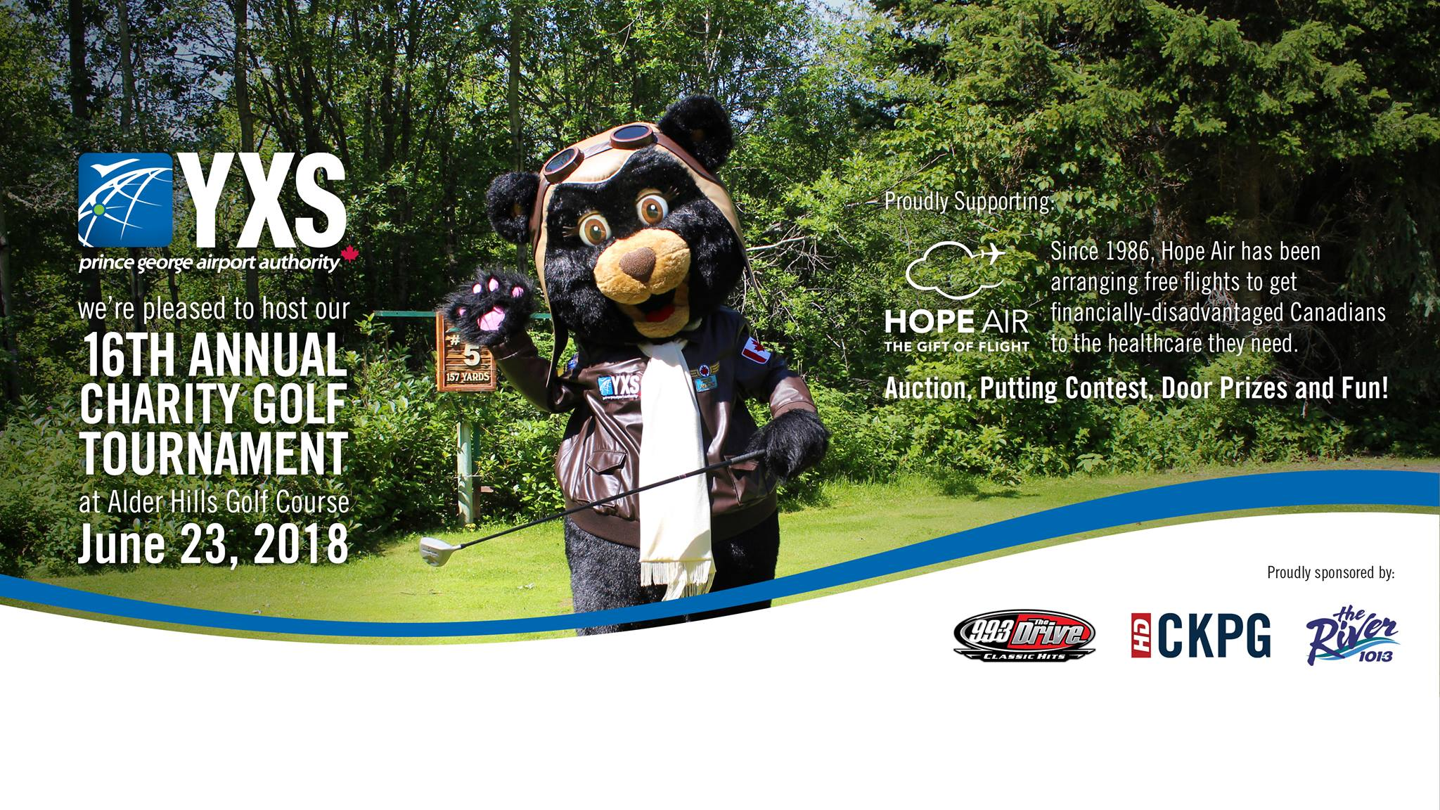Prince George Airport Authority's 16th Annual Charity Golf Tournament