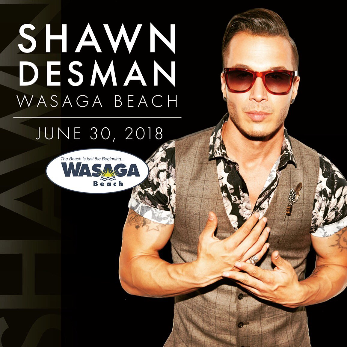 Shawn Desman Plays for Free