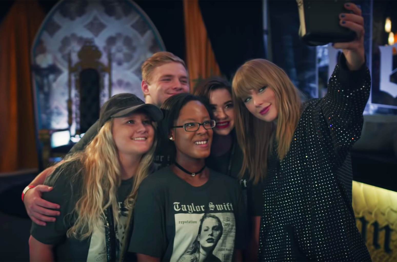 Taylor's New Camera