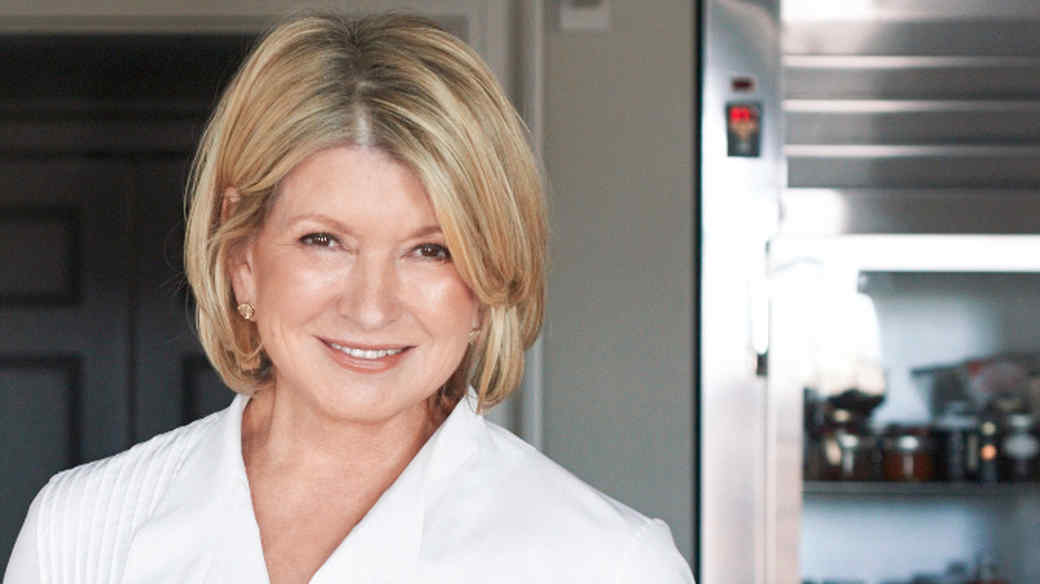 Martha Stewart took an Uber for the first time...