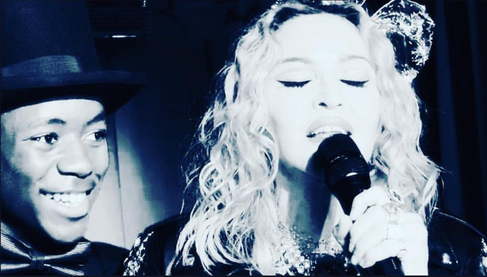 Madonna Does Surprise NYE Performance