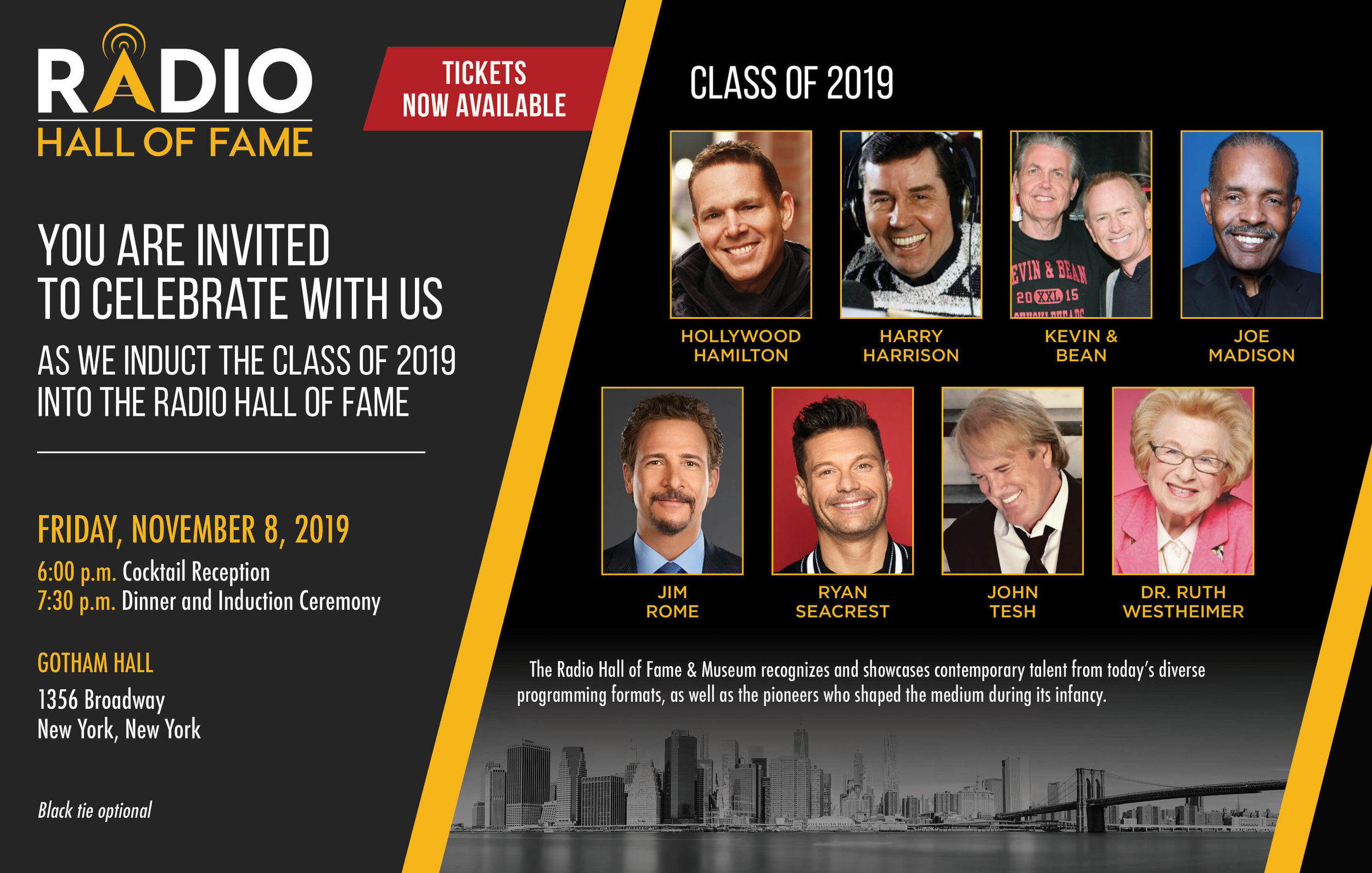 Ryan Seacrest to Be Inducted Into the Radio Hall of Fame