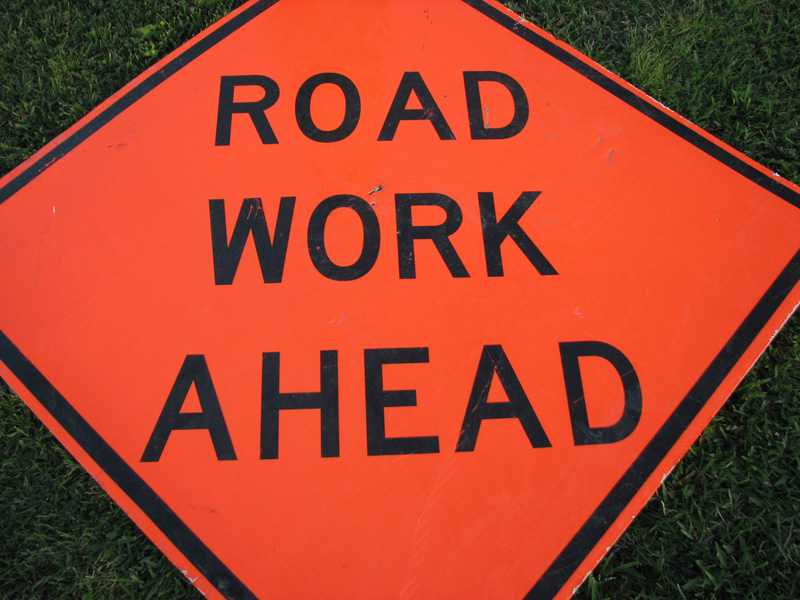 Resurfacing on Idylwyld Drive