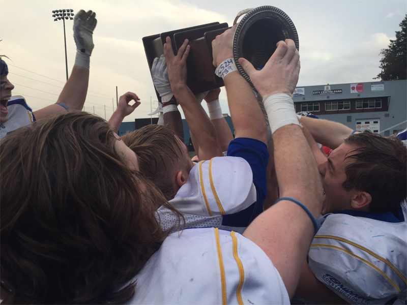 Hilltops complete drive for five straight Canadian Bowls