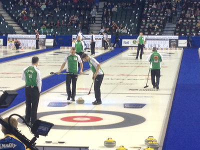 Laycock Foursome Ready to be Home Team at Regina Brier