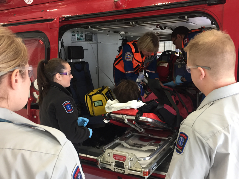 Saskatoon Researcher Looks at the Tough Job of Paramedic