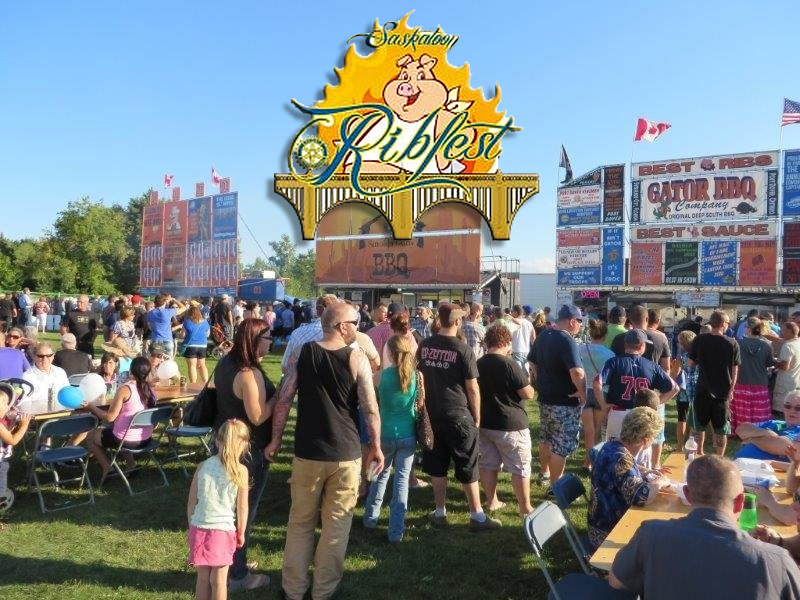 Thousands Check Out RibFest Over The Long Weekend