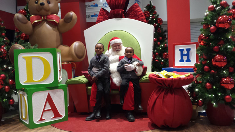 A Chance for Children with Sensitivity Issues to Meet Santa