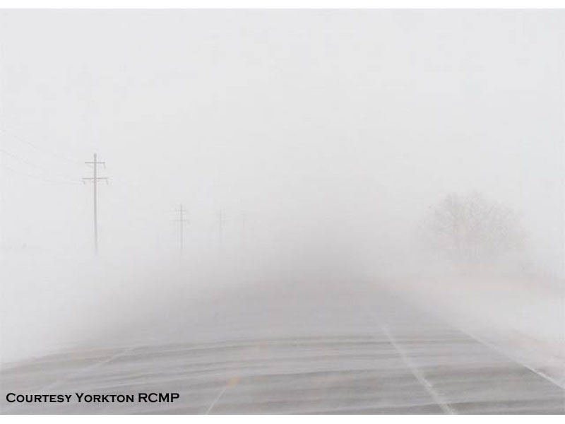 Wintry April Wreaks Havoc on Roads