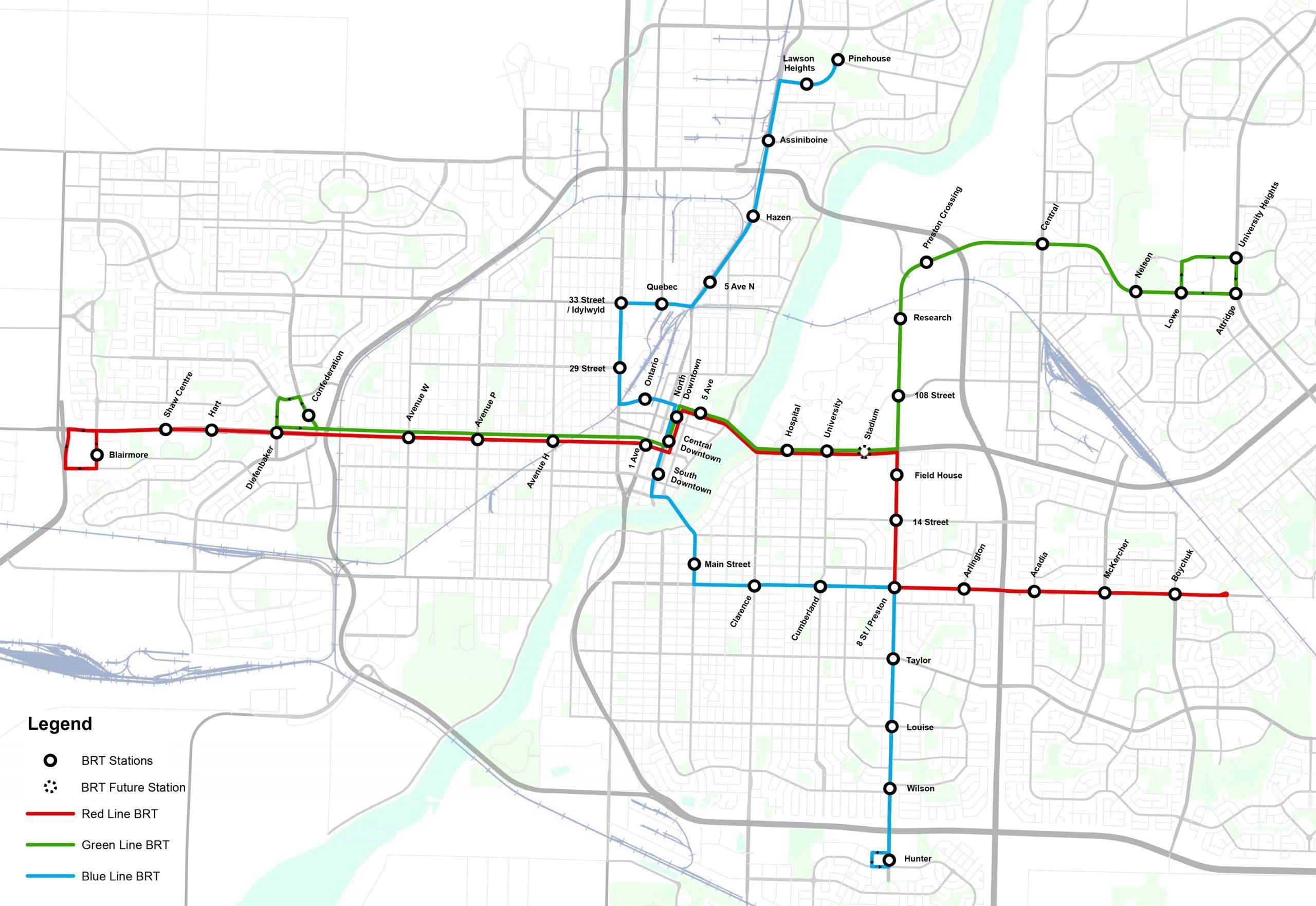 Saskatoon Mayor Says BRT is Chance to Get it Right