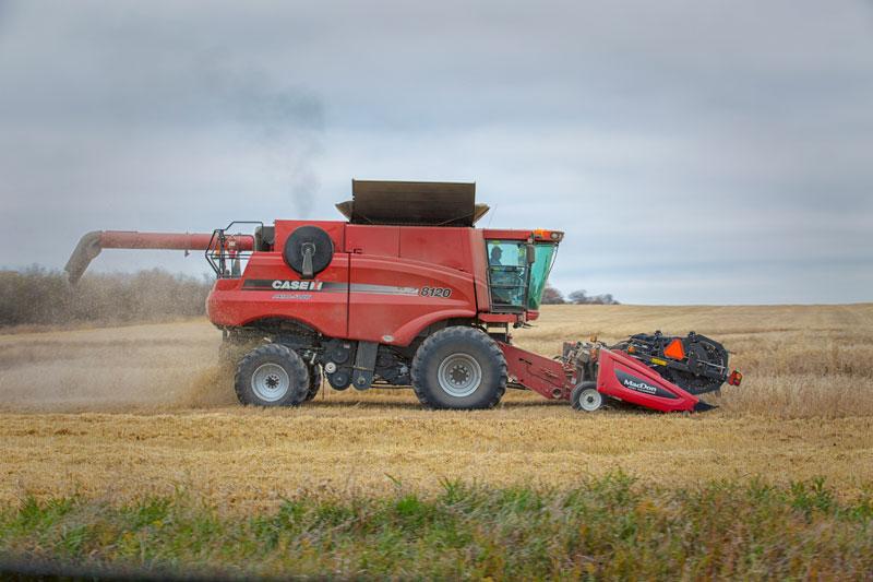 Harvesting Begins in Southern Saskatchewan