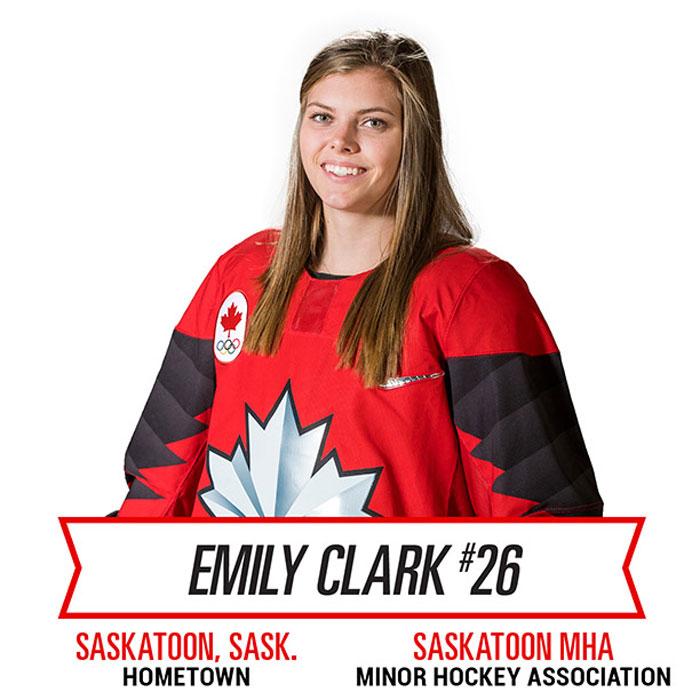Saskatoon's Clark Gets Home-Ice Advantage for Four Nations Cup