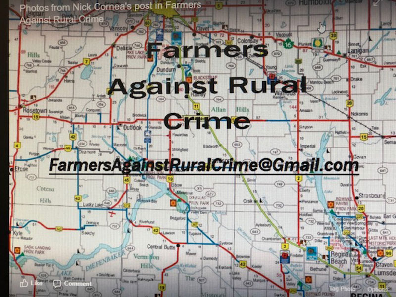 Farmers Against Rural Crime Facebook Page Gaining More Members