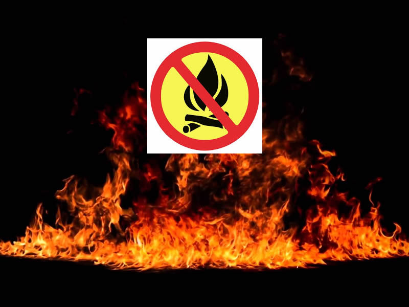 Fire Ban Goes Into Effect
