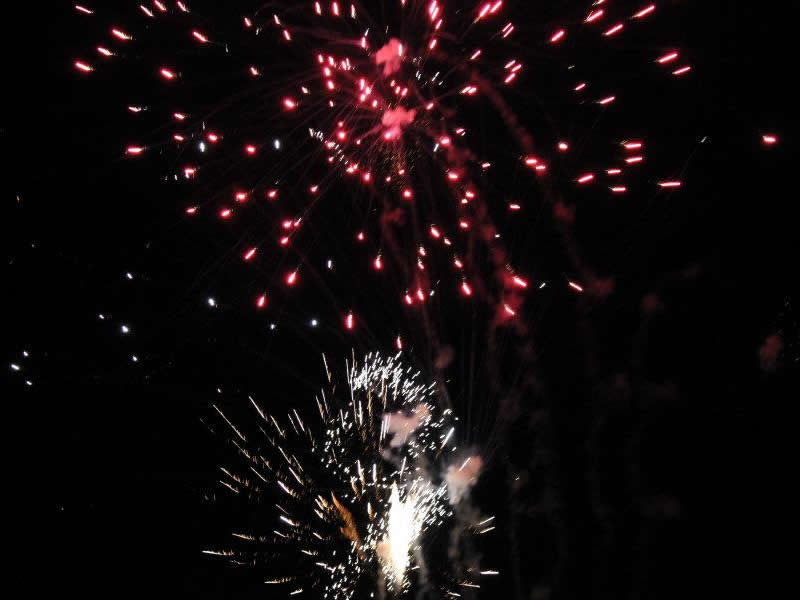 Fire Department Advising Residents to Choose a Safe Location for Setting off Fireworks