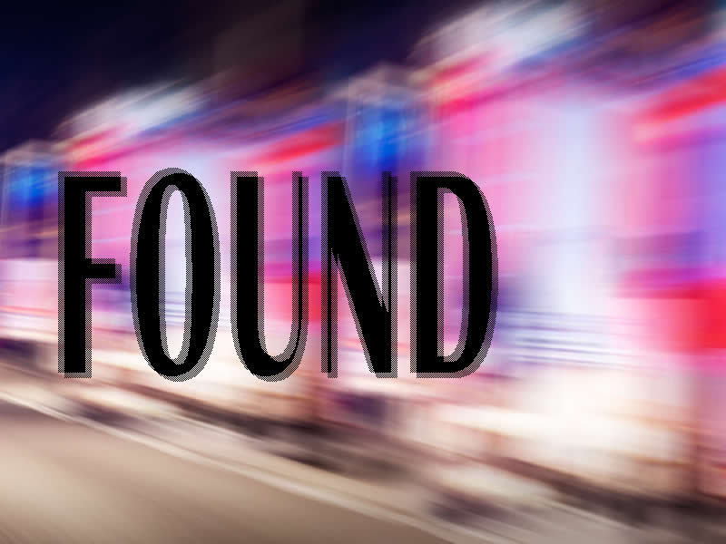Missing Man Found