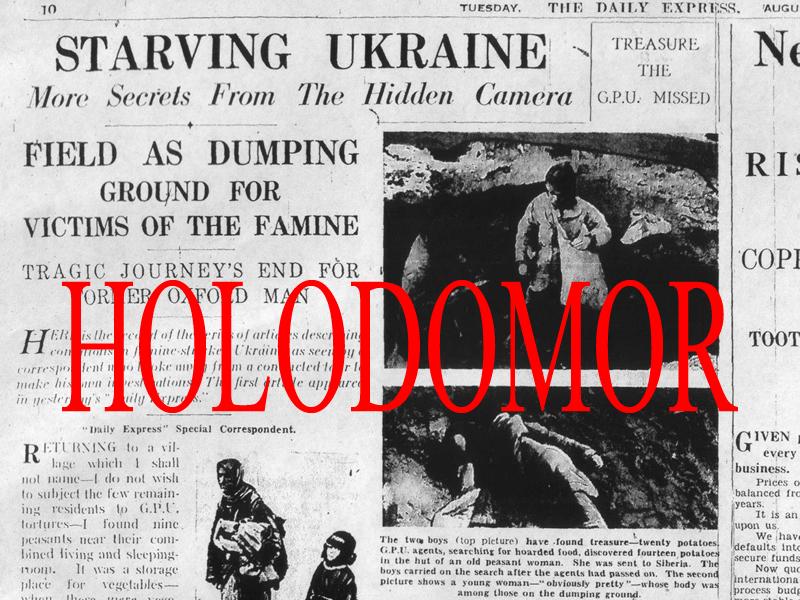 Remebering Holodomor