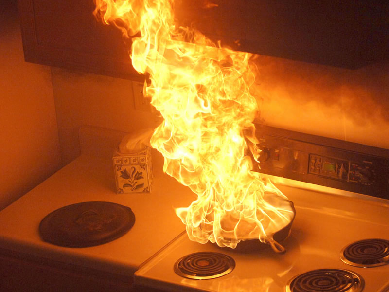 Kitchen Fires the Focus of Fire Prevention Week