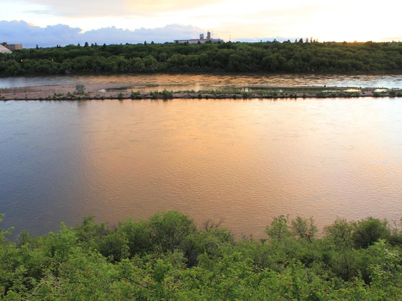 Celebrating the South Saskatchewan River at Beaver Creek Sunday