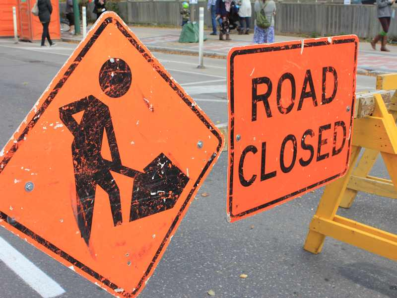 Major Road Closure Starts Monday