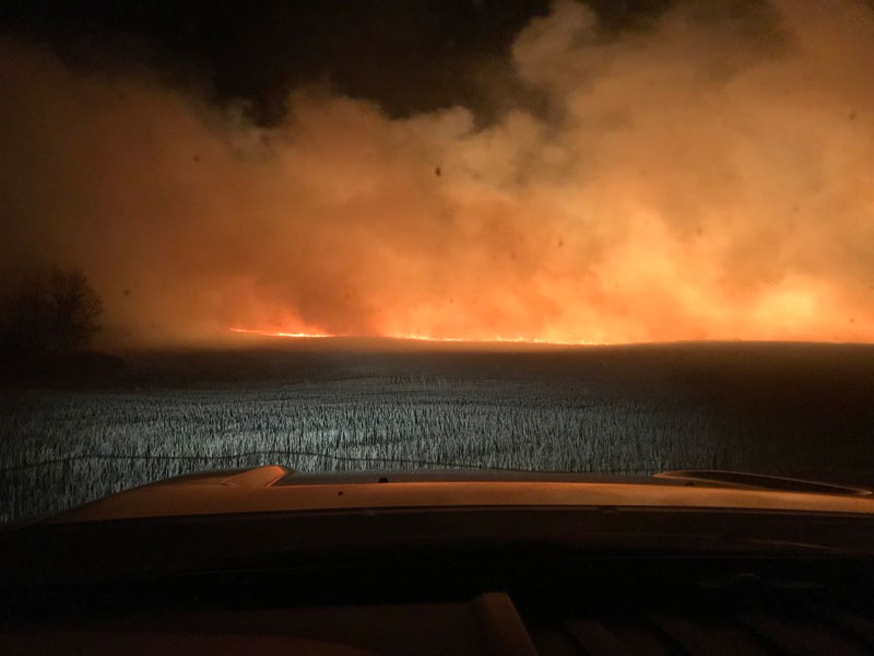 Six Wildfires are Not Contained in Saskatchewan