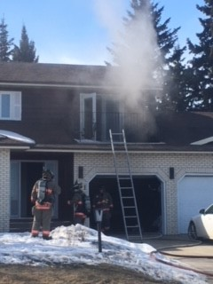 Fire Causes $80,000 Damage