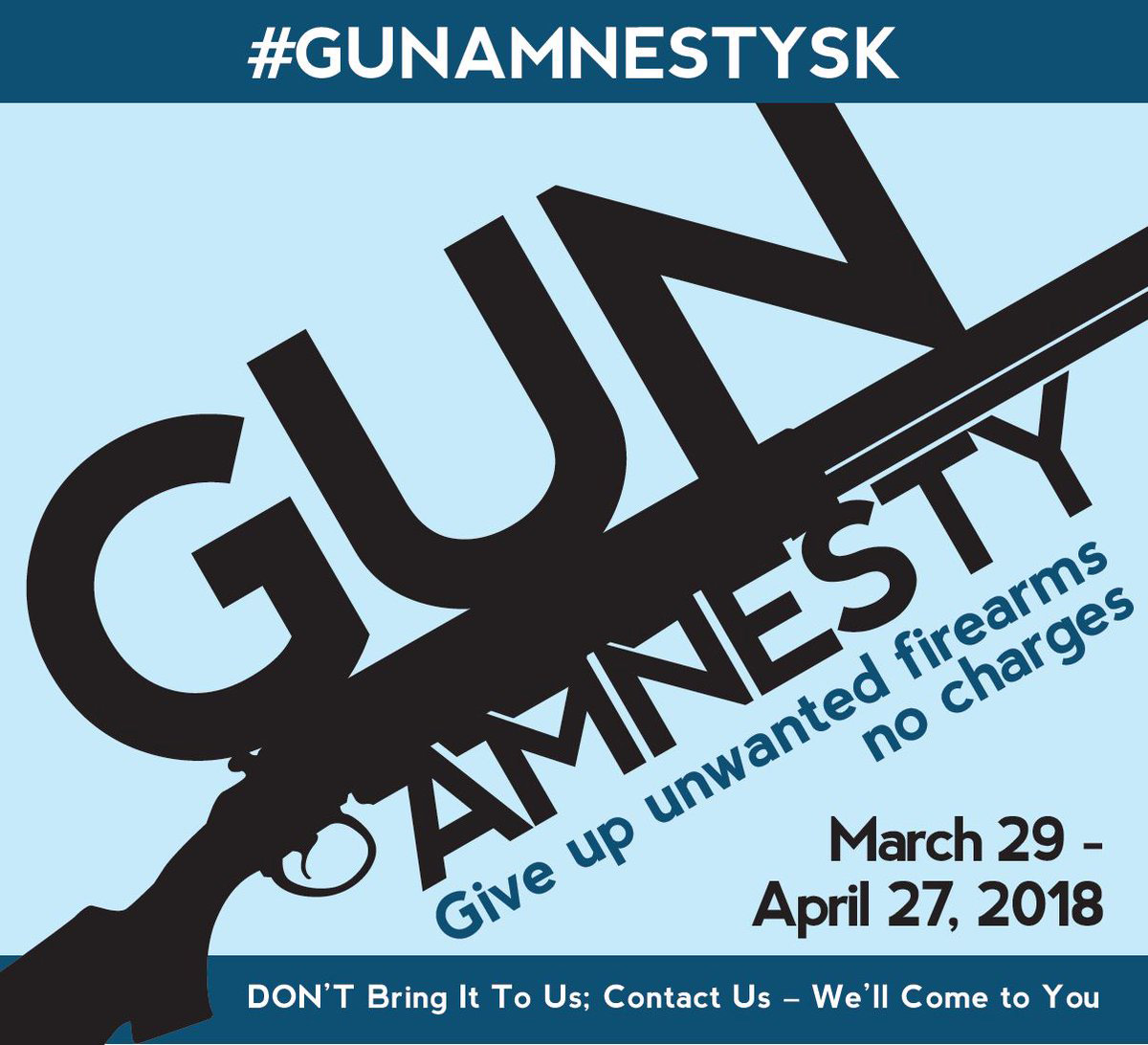 Gun Amnesty Ends Today