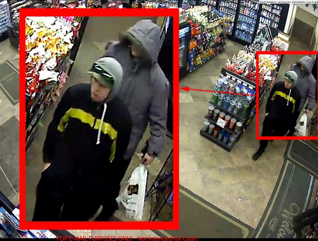 RCMP Looking For Assistance in Identifying Suspects