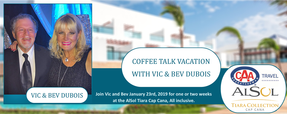 Feature: http://www.cjwwradio.com/2019-coffee-talk-vacation-with-vic-and-bev-dubois/