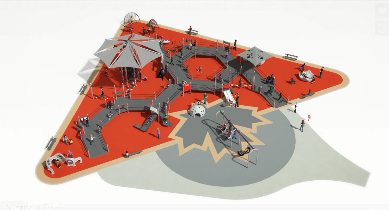 Universally Accessible Playground Being Built in Prince Albert