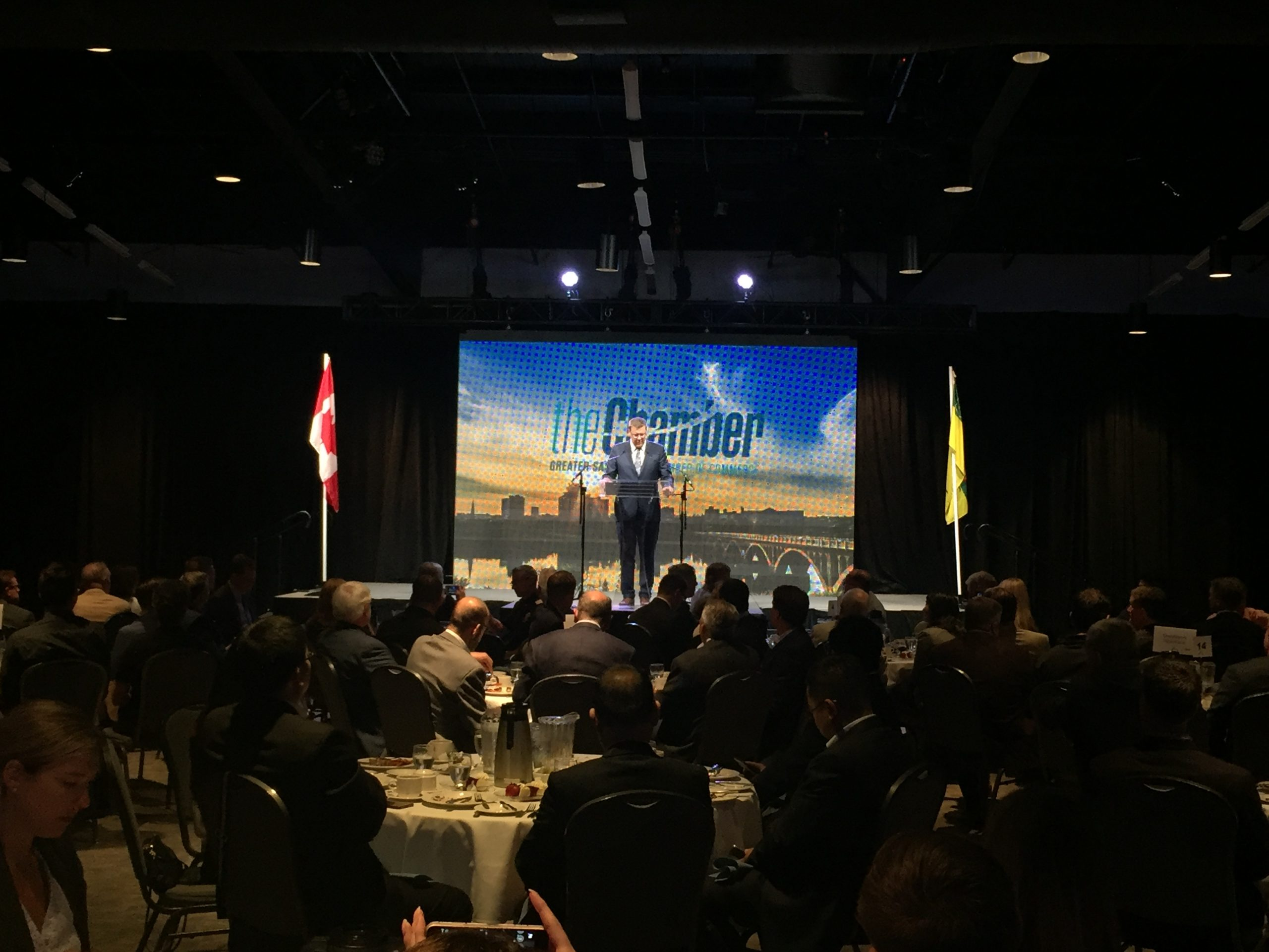 Premier's Speech Focused on Battling the Federal Carbon Tax