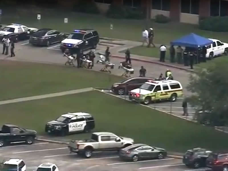 School Shooting In Texas Leaves Ten Dead