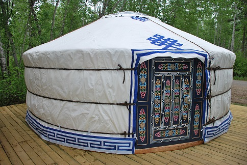 Ready to Camp in a Yurt?