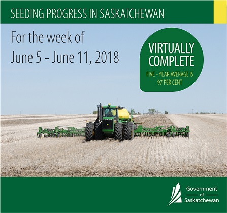 June Rains Help Saskatchewan Crops