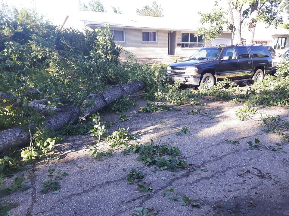 Storm Rips Through Elrose Likely Plough Wind