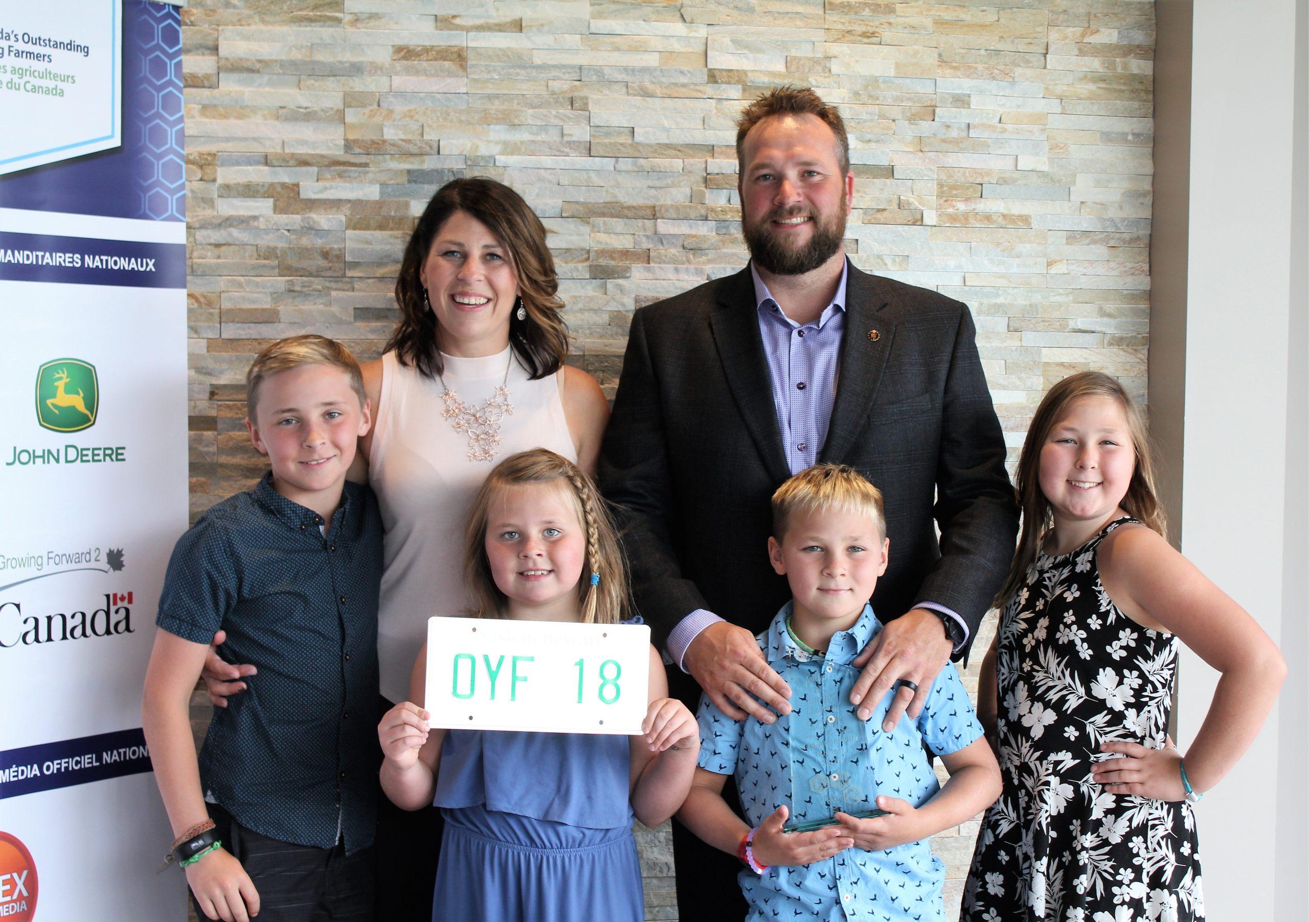 Norquay Couple Receive Saskatchewan Outstanding Young Farmers Award