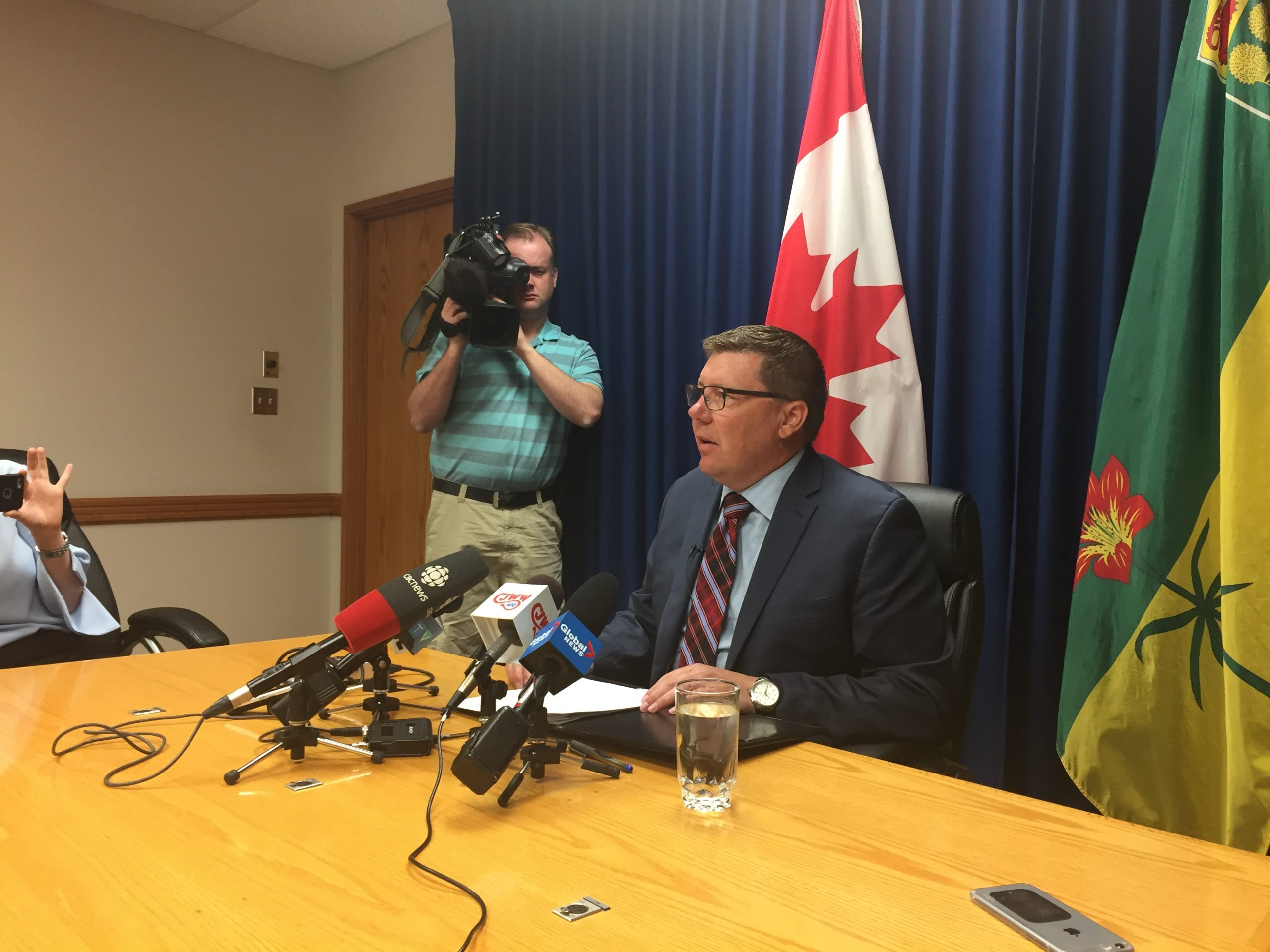 Premier Moe Announces New Formula for Equalization