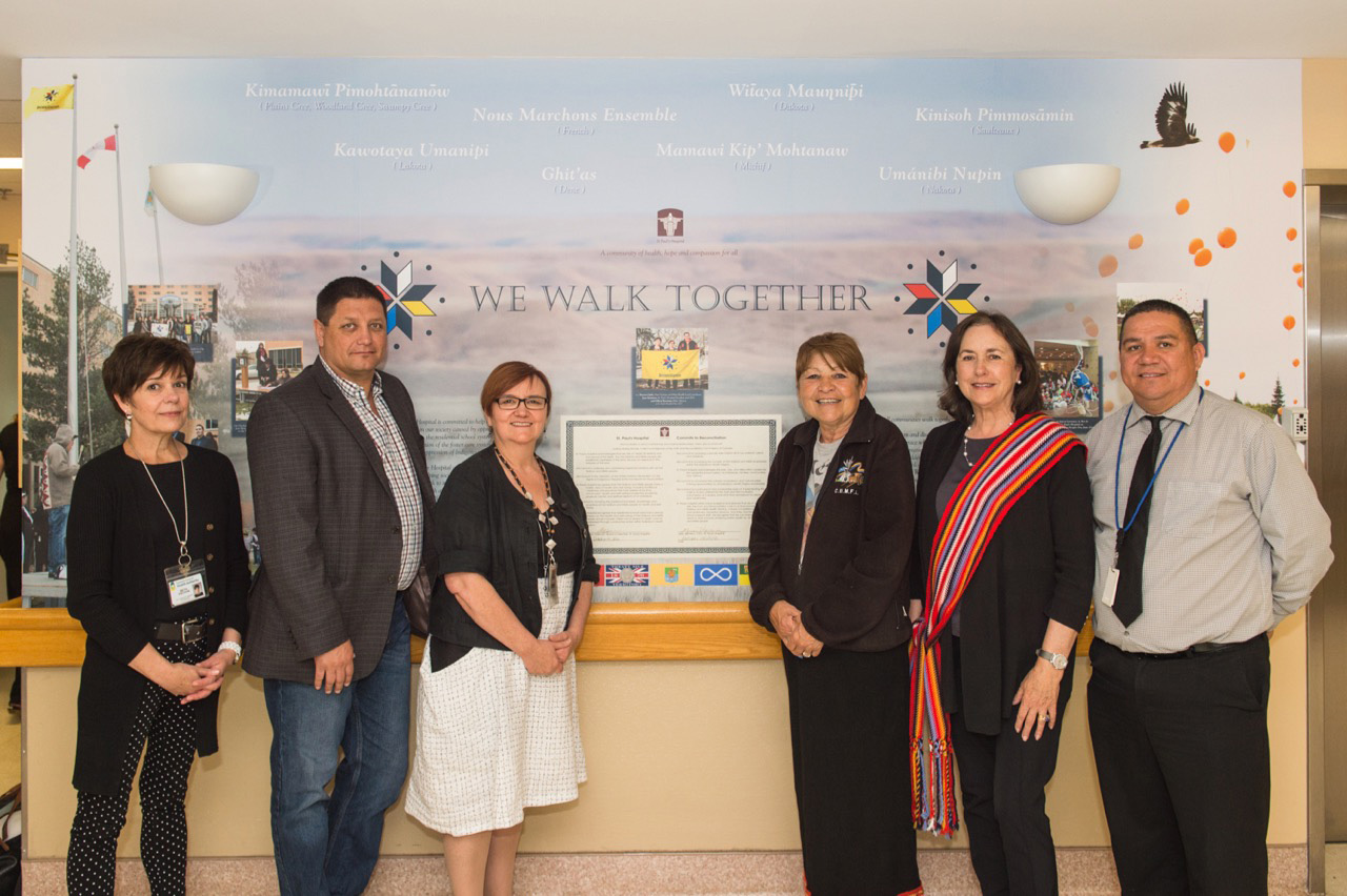 Truth and Reconciliation Mural means new beginning at St. Paul's Hospital