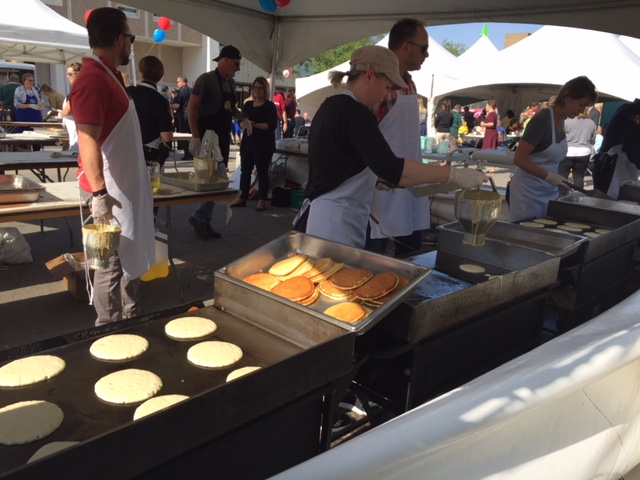 Civic Pancake Breakfast Successful In Recycling Efforts