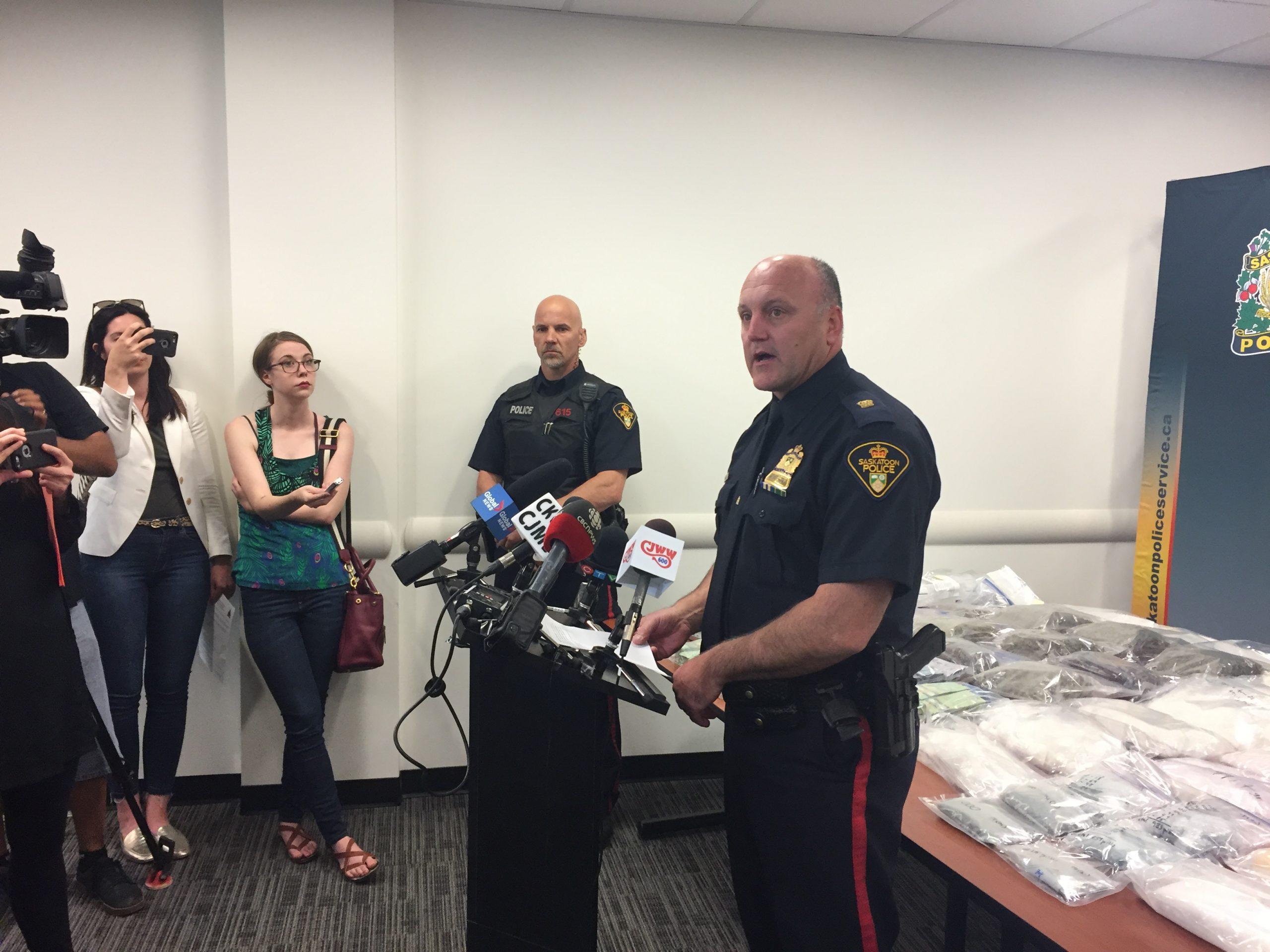 Saskatoon Police say the use of Meth is Increasing Following Drug Bust Last Week