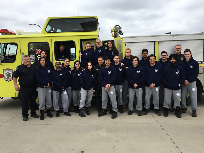 19 Graduate from FIRE Cadet Program