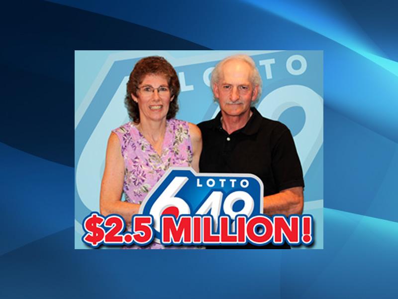 Regina Couple Wins Lottery