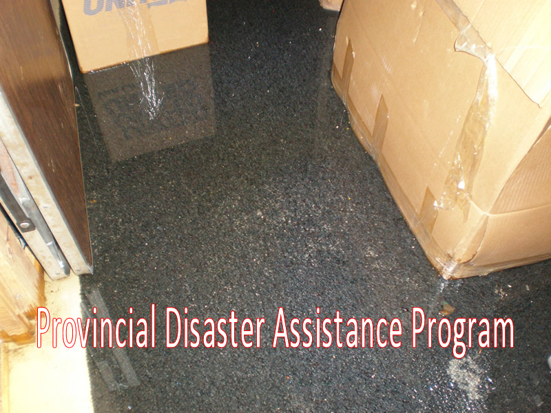 Flood Recovery Centre For RM Of Frenchman Butte