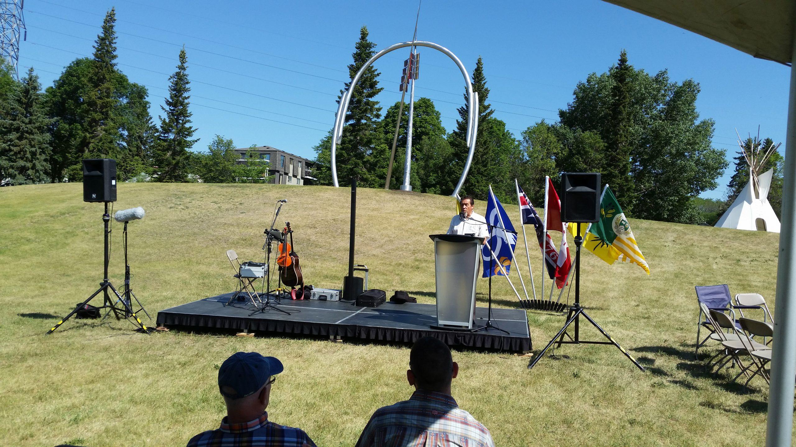 Reconciliation Artwork Dedicated in Victoria Park