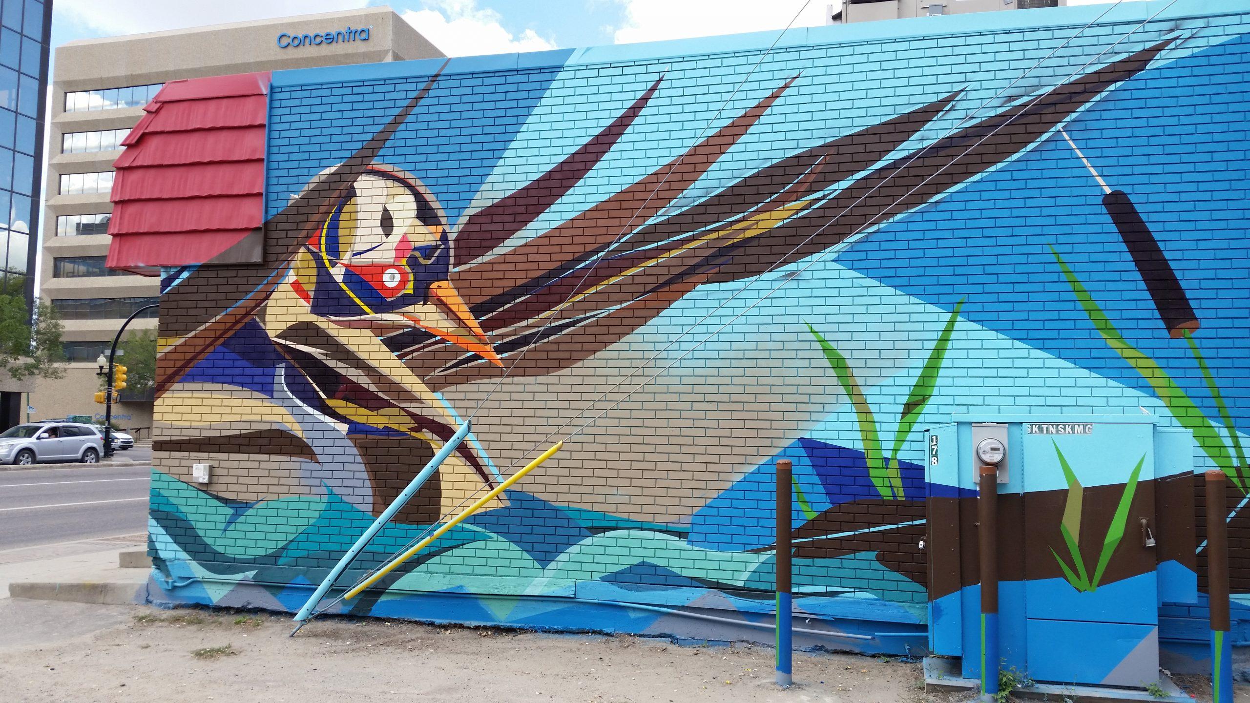 Mural unveiled in Saskatoon